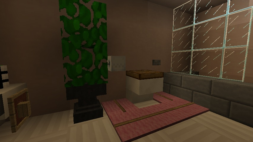 minecraft furniture bathroom modern hidden cistern style - Minecraft Bathroom Designs