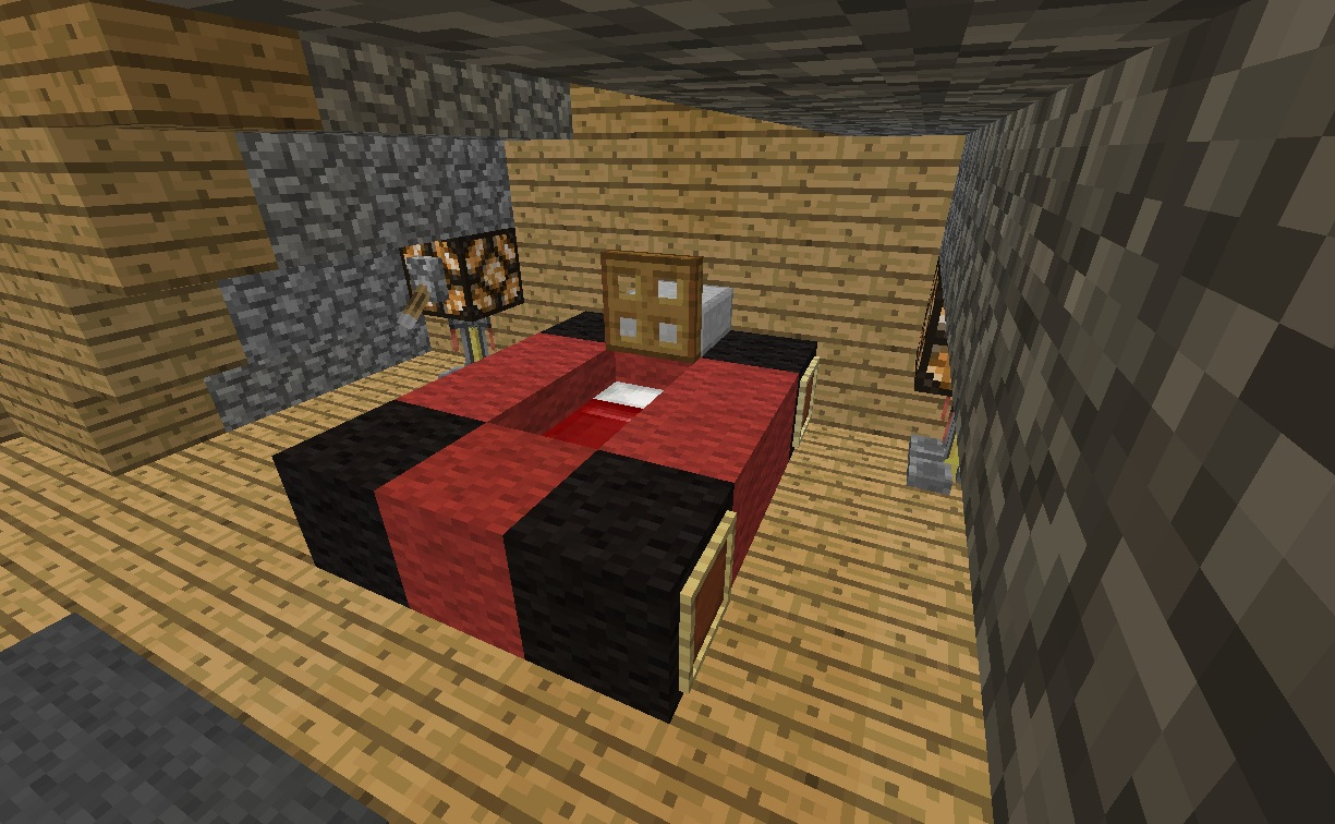 Minecraft Furniture Bedroom Race Car Bed - Cool minecraft furniture ideas