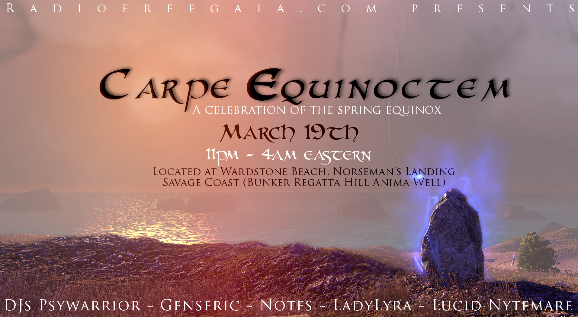 a history celebration of spring equinox Ostara - spring equinox - march 21st/22nd it is traditionally the day of equilibrium, neither harsh winter or the merciless summer, and is a time of childish wonder.