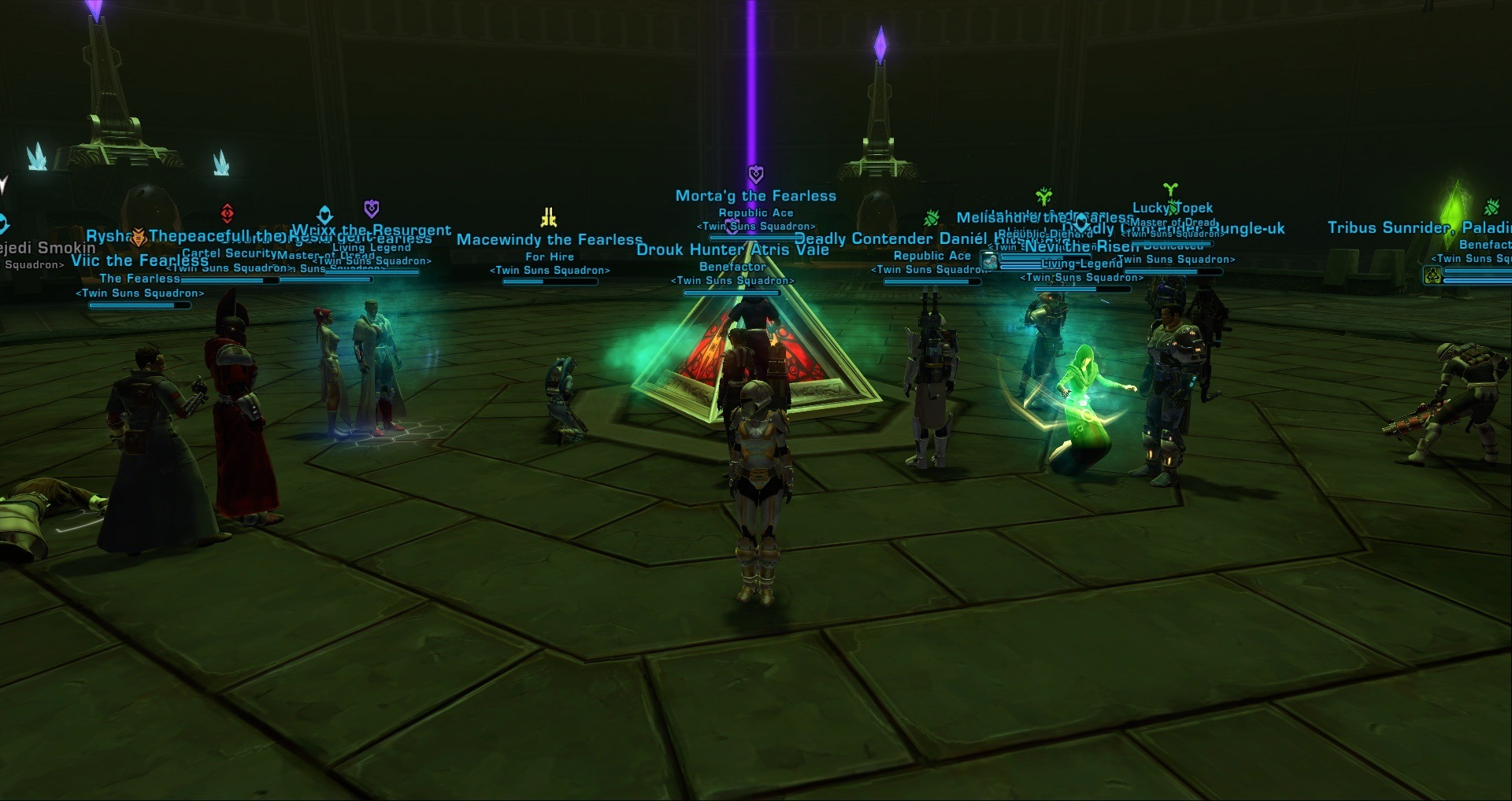 16-man DF last boss down
