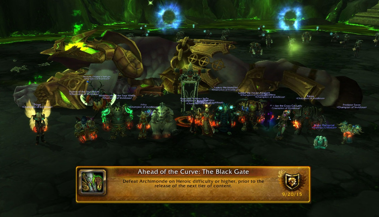 Ahead of the Curve - Heroic Archimonde