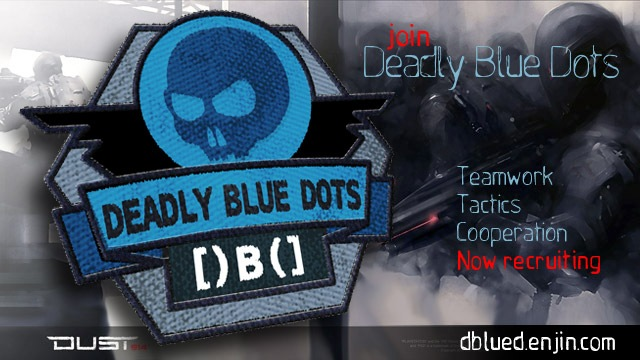 Join the Deadly Blue Dots today! Service guaruantees citizenship!