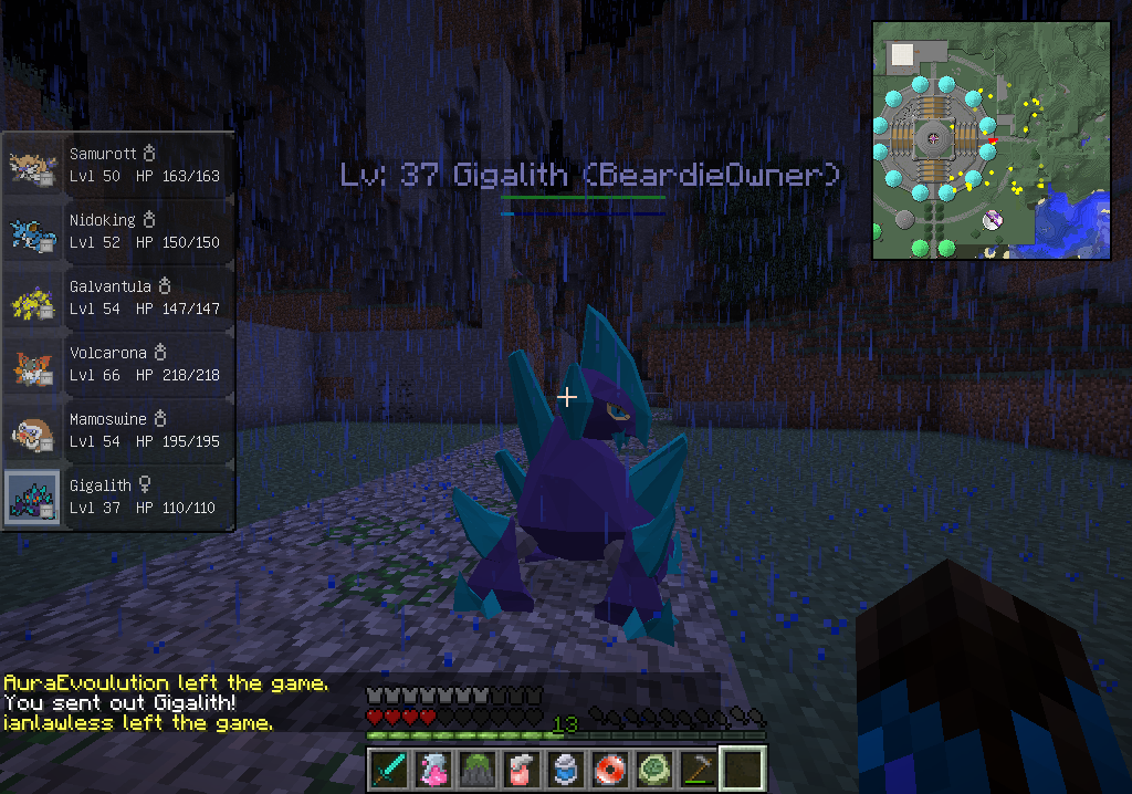 My shiny gigalith disappeared in a rollback. please return him