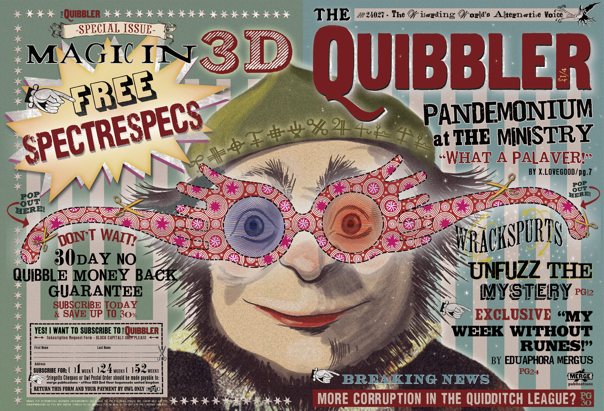 The Quibbler (Essential Information to Being a Writer)Quibbler Printable Cover