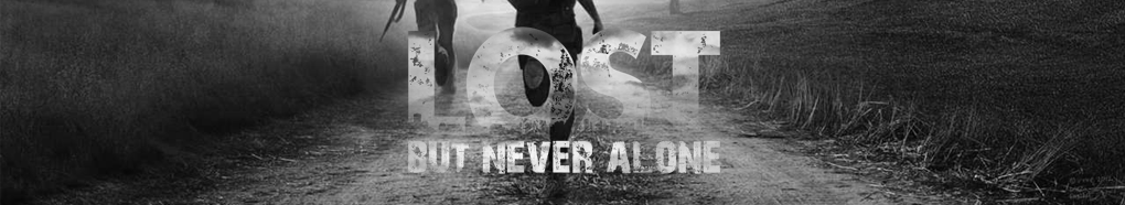 LOST But Never Alone